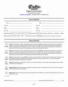 Wedding Planner Contract Wedding Contract For Wedding Planner Google Search