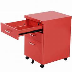 wood drawer file cabinet on wheels filing 2 office