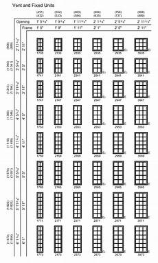 Standard Replacement Window Size Chart The Different Shapes And Sizes Of Casement Windows