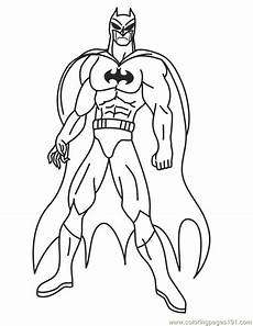 Malvorlagen Superhelden Printable Coloring Pages