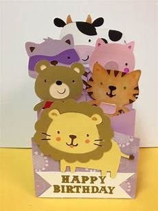 birthday card templates for granddaughter granddaughter s accordion birthday card cricut by