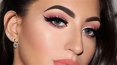 soft pink glam makeup tutorial samways