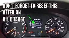 How To Reset Change Oil Light On 2012 Chevy Traverse How To Reset Oil Service Interval On A 2018 Kia Sportage
