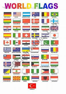 Flags Of The World Chart Printable World Flags For Class Board Esl Worksheet By Ugiteacher