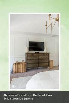 46 fresco dormitorio de pared para tv de ideas de dise 241 o