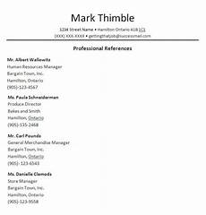 Professional References Template Professional Reference List Template Word