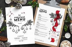 Free Blank Christmas Menu Templates Christmas Menu Template Vol 3 Brandpacks