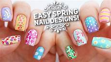 Nail Art Easy 10 Easy Nail Art Designs For Spring The Ultimate Guide
