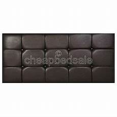 new cubed faux leather headboard all sizes colours
