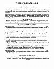 Hospitality Manager Resume Hotel Manager Resume Examples Best Resume Examples