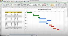 How To Make A Simple Gantt Chart In Excel 2007 Use This Free Gantt Chart Excel Template