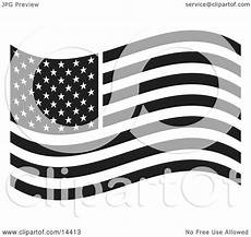 American Flag Watermarks The American Flag Waving In The Breeze Clipart