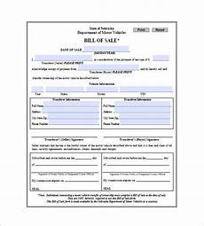 Car Bill Format Car Bill Of Sale 10 Free Sample Example Format