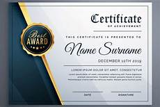 Professional Award Certificate 50 Multipurpose Certificate Templates And Award Designs