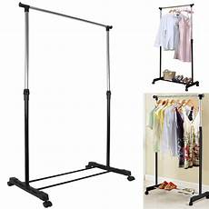 mobile clothes hanging rack heavy duty adjustable mobile clothes hanging rail rack