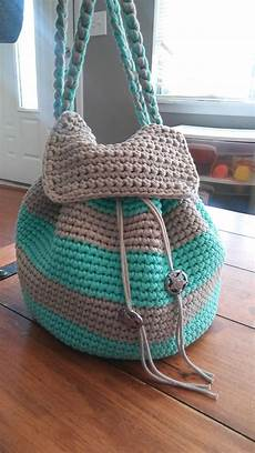 slouchy stripes backpack free pattern