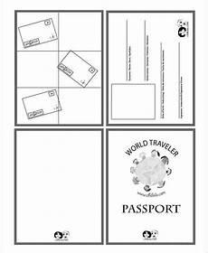 Passport Template Download Passport Templates Word Excel Samples