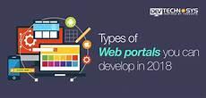 Web Portals Types Of Web Portals You Can Develop This 2018 Appfutura