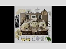 Elegant dinner party themed decorating ideas   YouTube