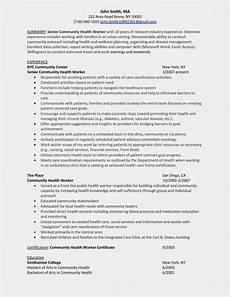 Community Outreach Cover Letters Community Health Outreach Worker Cover Letter June 2020