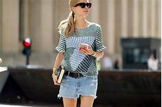 10 summer fashion trends 2017 to shop denim shorts mules