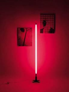 Seletti Tube Light Neon Lights Red Tube Floor Lamp Seletti Industrial