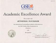 Academic Award Certificate School Days Rose Palomar