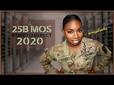 25b Mos 25b Mos What To Expect 2020 25b Itspecialist