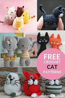 free crochet cat patterns crochet now