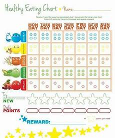 Food Chart For Kids Picky Eater Chart Food Chart For Kids Healthy Food