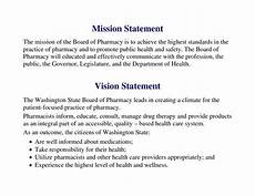 Mission Statement Sample Examples Of Mission Statements Template Business