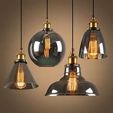 Light Bulb Shades Suspension Mode Hanging Lamp Glass Ball Hanging Lights