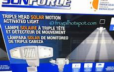 Costco Led Motion Light Costco Sale Sunforce Solar Motion Activated Security