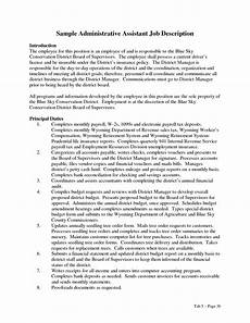Administrative Assistant Duties For Resume Administrative Assistant Duties Resume Administrative