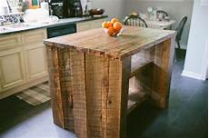custom reclaimed kitchen island by designs - Reclaimed Kitchen Island