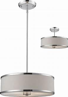 Copper Drum Light Fixture Z Lite 164 16 Cameo Chrome 15 63 Quot Wide Drum Hanging Light
