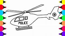 Malvorlagen Polizei Helikopter How To Draw And Color Helicopter Coloring Pages