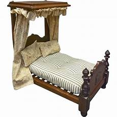 1 2 tester canopy doll bed from