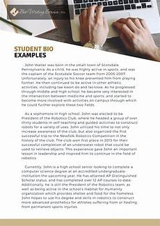 High School Student Bio Guide For An Effective Student Bio