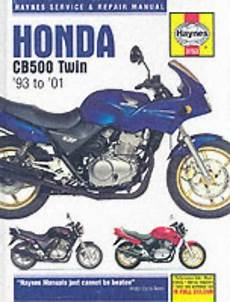 Books On Honda Motorcycles 500 To 599cc