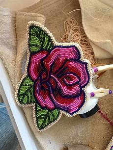 beadwork pink and purple my favorite color