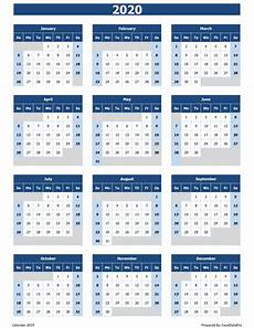 microsoft calendar templates 2020 2020 calendar excel templates printable pdfs amp images