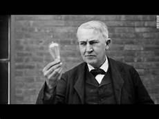 Thomas Edison Light Bulb Thomas Edison S Light Bulb Youtube