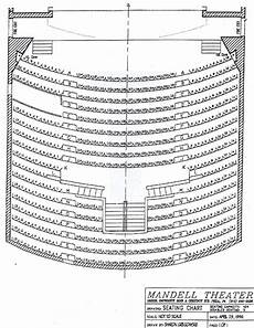 Mandell Theater Seating Chart Mandell Theater Seating Chart