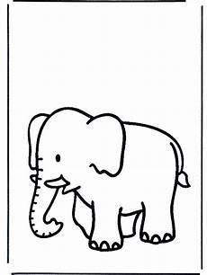 elefant ausmalbild 1ausmalbilder elefant