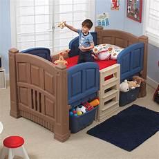 step 2 boy s loft storage bed baby toddler