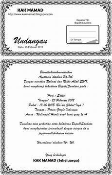 free download contoh undangan walimatul hamli contoh isi