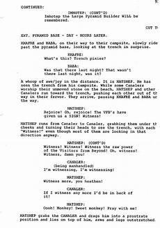 Sample Screenplay Copyright Infringement Claimed On Script Summaries
