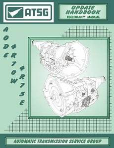 Atsg Update Supplement For Ford Aode 4r70w 4r75e Overdrive