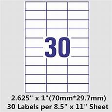 Avery 30 Per Page Labels Free Labels Template 21 Per Sheet Blogscrew